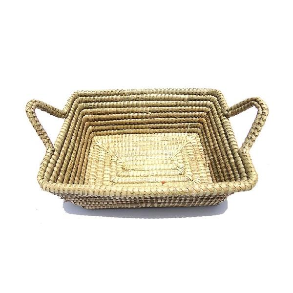 Agrey Square Fruit Basket With Handel 11051