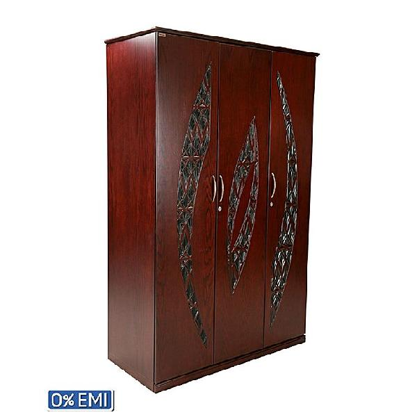 Allex Furniture Wood 3 Palla AlmirahAF-WD-A-32