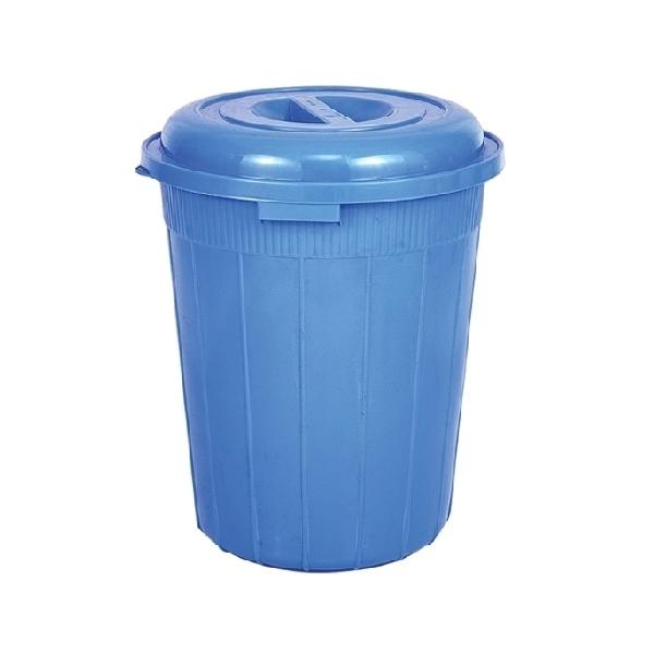Drum Bucket with Lid 50Ltr Blue 86778