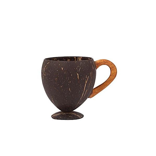 Eco Friendly Natural Handmade Coconut Shell Coffee Mug Coffee mug-1