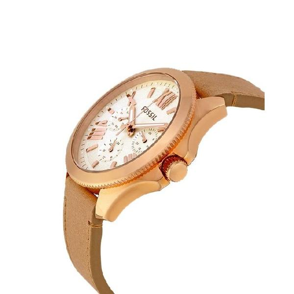 Fossil Cecile Leather Chronograph Watch for Women AM4532
