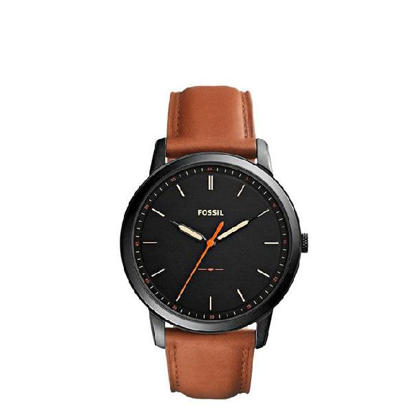 Fossil Leather Analogue Watch For Men FS5305