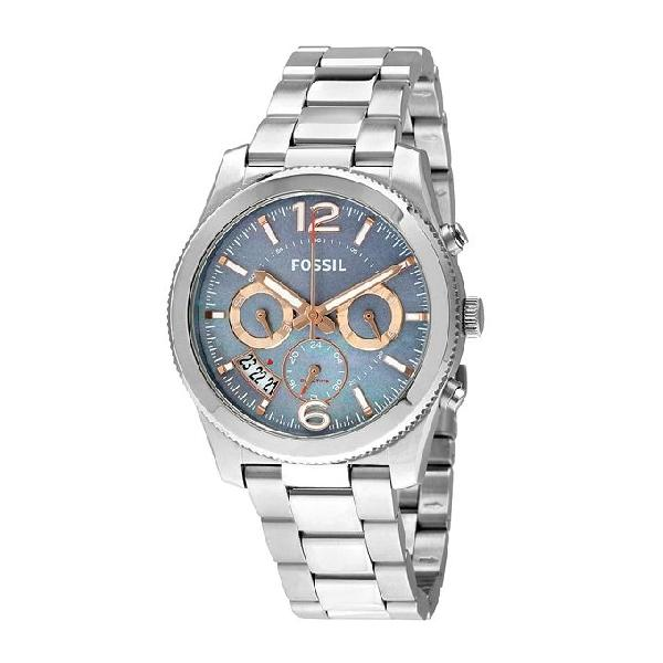 Fossil Stainless Steel Chronograph Watch For Women ES3880