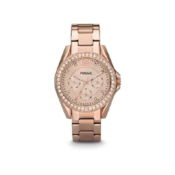 Fossil Stainless Steel Riley Chronograph Watch For Women ES2811