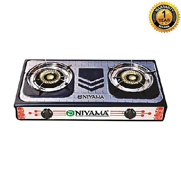 Niyama Double Burner Gas Stove LPG NGS-219