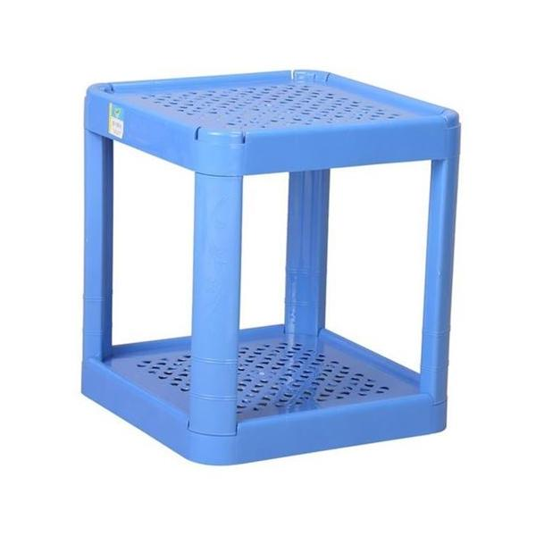 TEL Plastic Water Filter Stand Blue 803005