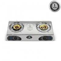 ACI Double Burner Auto Ignition Natural Gas Stove B15