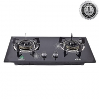 ACI Double Burner Auto Ignition Natural Gas Stove CB48
