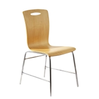 Allex Furniture Fixed Chair AF:CF-SS-AB-010