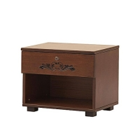 Allex Furniture Wood Bed Side Table AF-WD- BST-02