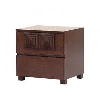 Allex Furniture Wood Bed Side Table AF-WD-BST-03