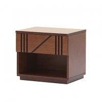 Allex Furniture Wood Bed Side Table AF-WD-BST-04