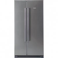 Bosch No Frost side-by-side fridge-freezer with 3 Vegetable Drawers  KAN56V40NE