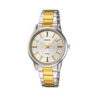 Casio Two Tone Elegant Watch for Women- LTP-1303SG-7AV