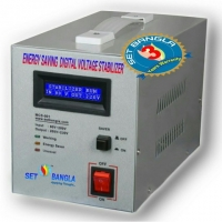 Digital Power Saving 50/60Hz Voltage Stabilizer EDS-650VA