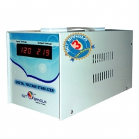 Digital Single Phase 50/60Hz Voltage Stabilizer DS-1500VA