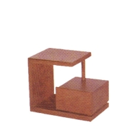 Five Brothers Stylish Design 2.5x2 Feet Teak Side Table CWV317168_2.5x2