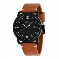 Fossil Leather Analogue Watch For Men FS5276