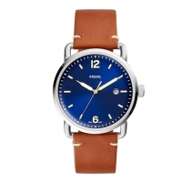 Fossil Leather Analogue Watch For Men FS5325