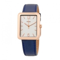 Fossil Leather Analogue Watch For Women ES4158