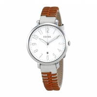 Fossil Leather Analogue Watch For Women ES4209