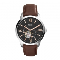 Fossil Leather Chronograph Watch for Men ME3061