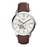 Fossil Leather Chronograph Watch for Men ME3064