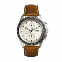 Fossil Sport 54 Leather Chronograph Watch for Men CH3023