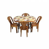 Hamko Plastic Oval Dining Table HPF02-13