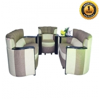 Hatim Furniture Wooden Sofa Full Set HSDCH-302