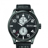 Hugo Boss Nylon Aeroliner MAXX Chronograph Watch for Men 1513086