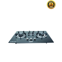 Linnex Linnex Tempered Glass Body Gas Stove GHG80-301
