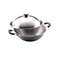 Meyer Cookwere Centennial Covered Chinese Wok