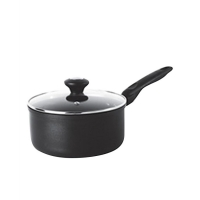 Meyer Cookwere Covered Saucepan