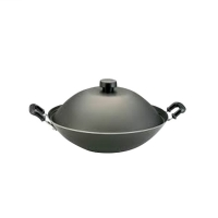 Meyer Cookwere Non-stick Covered Chinese Wok