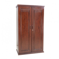 NADIA Furniture Oak Wood 2 Shutter Paris Almirah NFL-C-0251-1