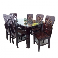 Nurjahan Furniture Dining Table with 6 Chair DI-42