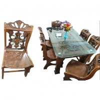 Nurjahan Furniture Dining Table With 6 Chair DI-53