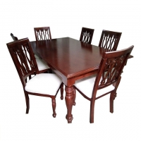 Nurjahan Furniture Dining With 6 Chair DI-30