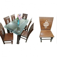 Nurjahan Furniture Dinning Table with 6 Chair DI-59