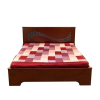 Nurjahan Furniture Oak Wood Bed BD -04