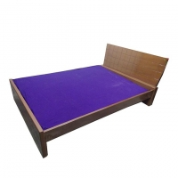Nurjahan Furniture Stylish Semi-box Bed BD-26