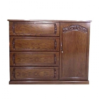Nurjahan Furniture  Wooden Wardrobe WD-03