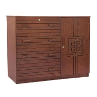 Nurjahan Furniture  Wooden Wardrobe WD 25