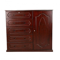 Nurjahan Furniture Wooden Wardrobe WD 37