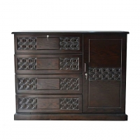 Nurjahan Furniture Wooden Wardrobe WD-39