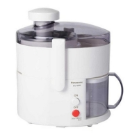 Panasonic Juicer MJ-68MW-SP