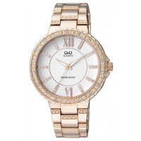 Q&Q Ladies Stone watch F507-001Y