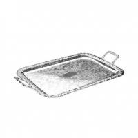 QUEEN ANNE Tray Handle Oblong Q62192