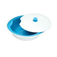 Rainbow Two Layer Oval Food Bowl BB81184
